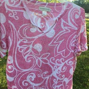 CHRISTOPHER AND BANKS WOMENS TOP MEDIUM